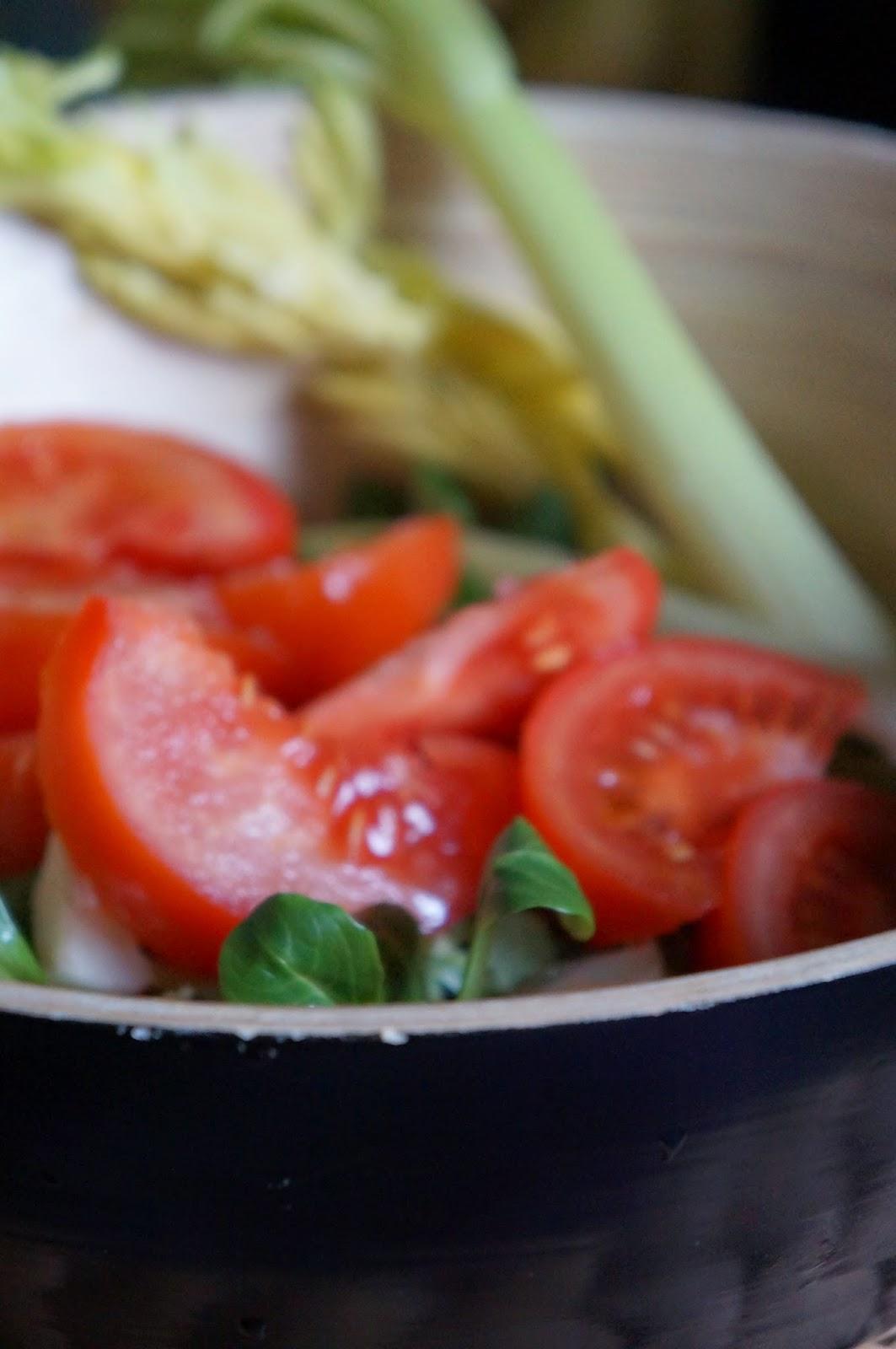 Una golosa a dieta agnello ripassato al limone for Soncino insalata