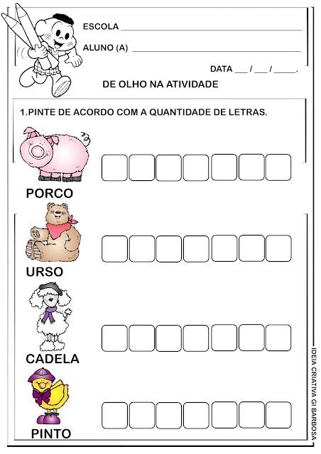 Atividade Educação Infantil