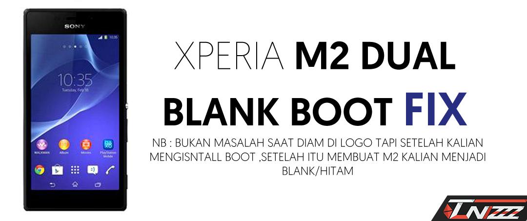 Mengatasi M2 dual layar hitam/blank setelah install boot