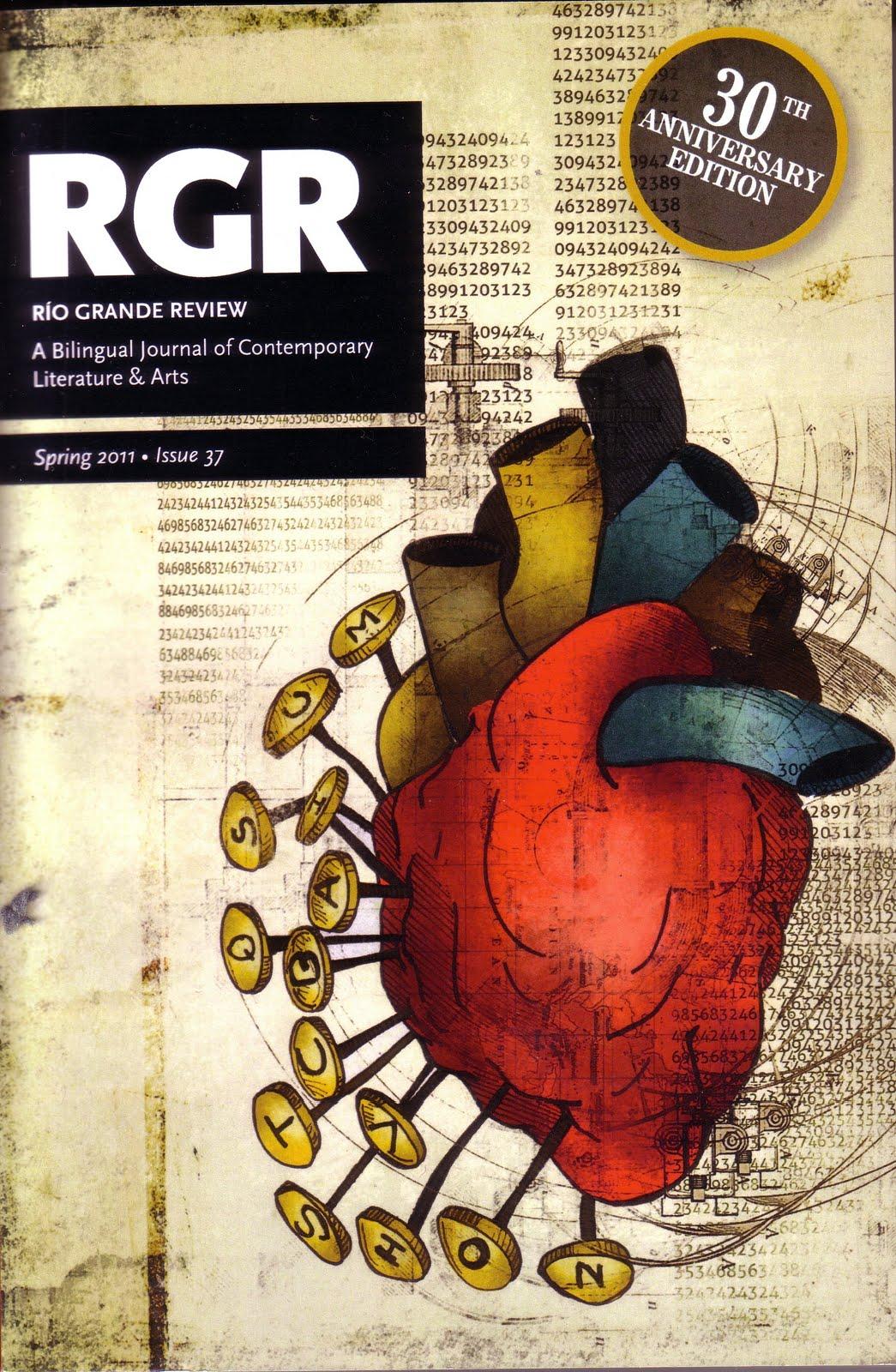 Río Grande Review - 'El alfabeto del profesor Chomsky' (El Paso, Spring 2011)