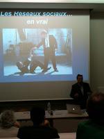 """Didier Mazier, conférence Eyrolles """"Réseaux Sociaux et Community Management"""