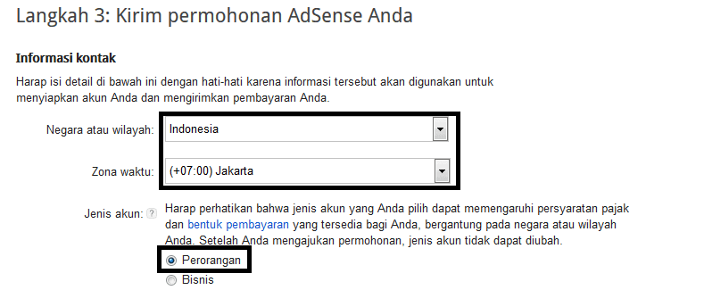 Cara daftar google adsense langsung dari blogger