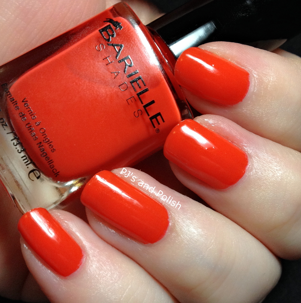 Swatch and Review Barielle Suntini Orange Jelly HK Girl