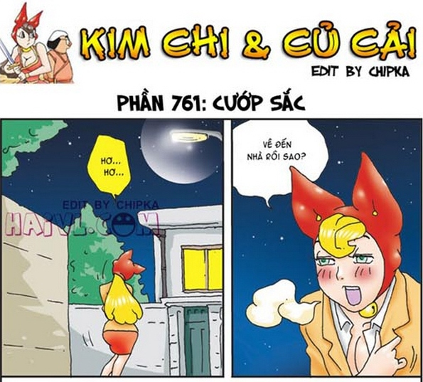 Kim chi cu cai phan 761 - Cuop sac - truyện tranh 18+ vui nhộn hài hước