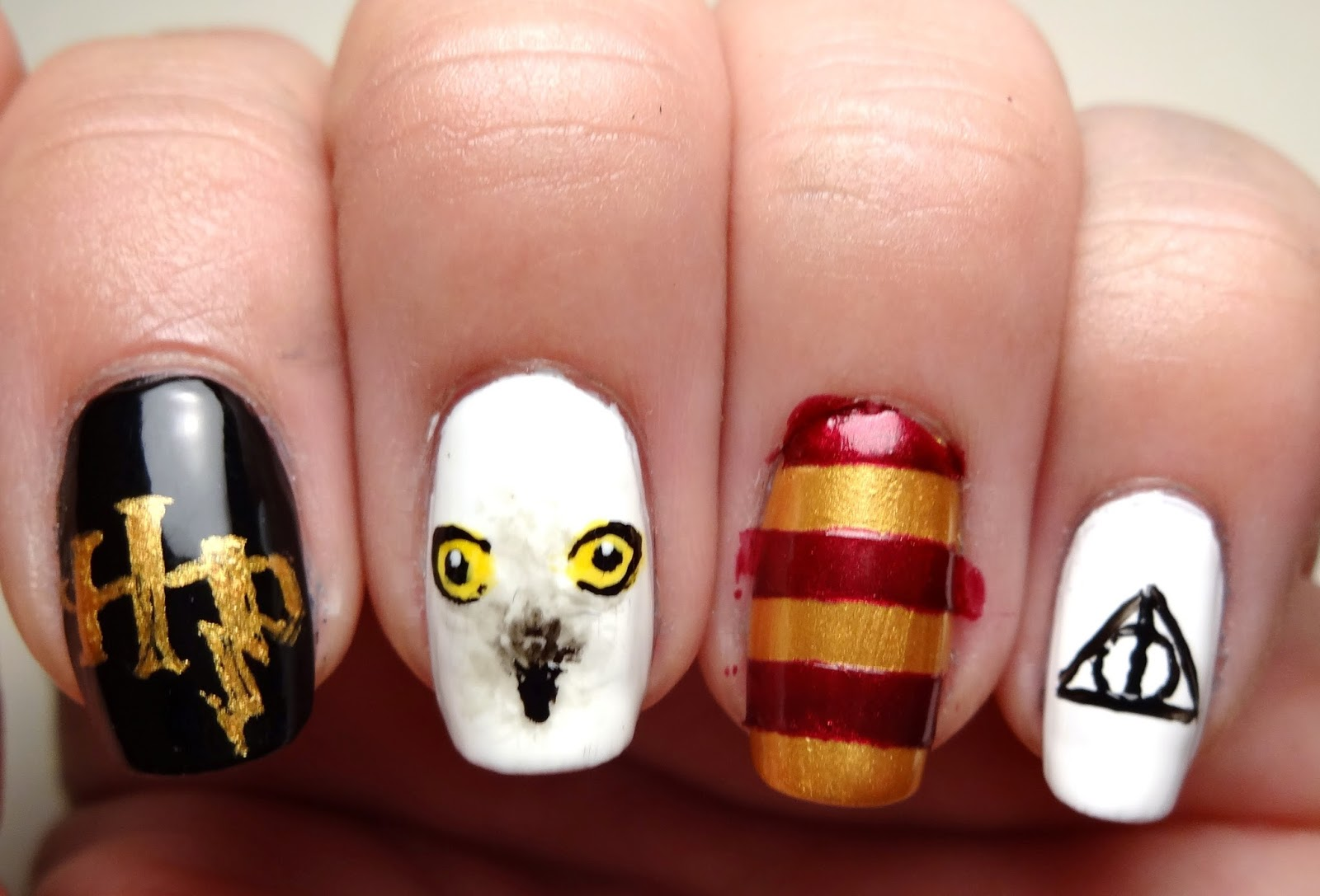 Deathly Hallows Nail