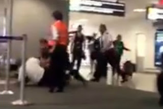 Drunk passenger attacked US airline captain at airport