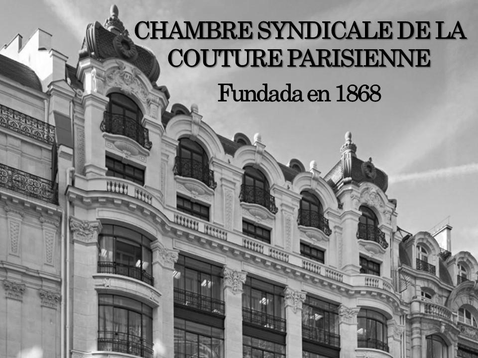 Historia de la moda y los textiles el profe abd n alta for Chambre de syndicale