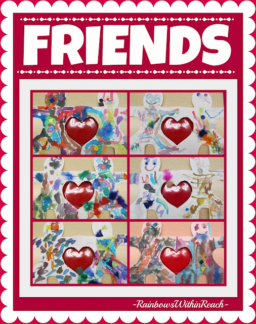 Valentine's Day Friendship Paintings via RainbowsWithinReach