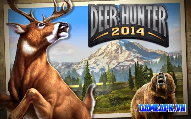 DEER HUNTER 2014 v2.8.2 hack tiền & Glu cho Android