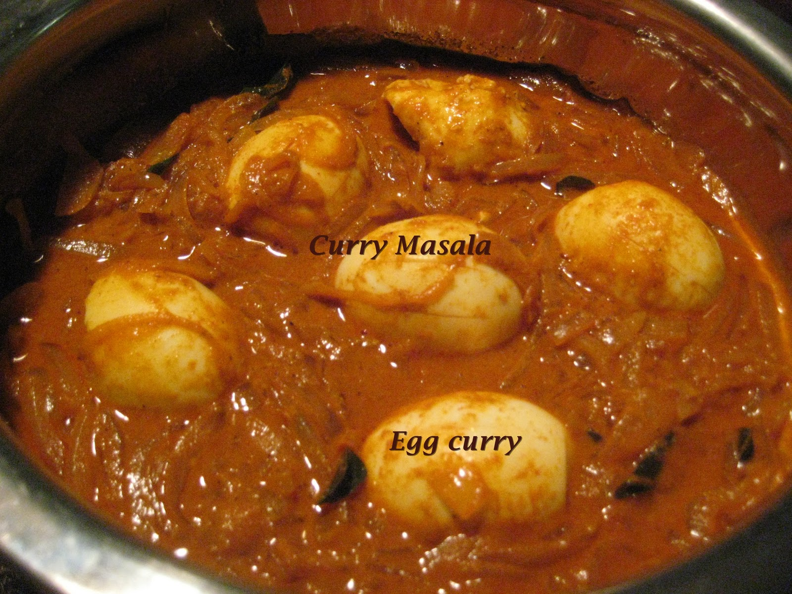 Curry Masala: Simple Spicy Egg Curry