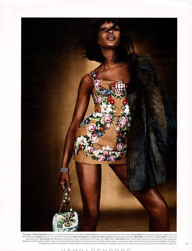 FAB EDITORIAL: NAOMI CAMPBELL FOR W MAGAZINE JULY 2012 ...