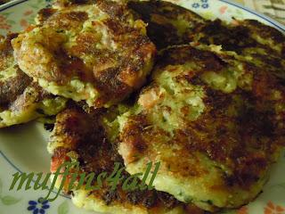 rosti con zucchina e speck