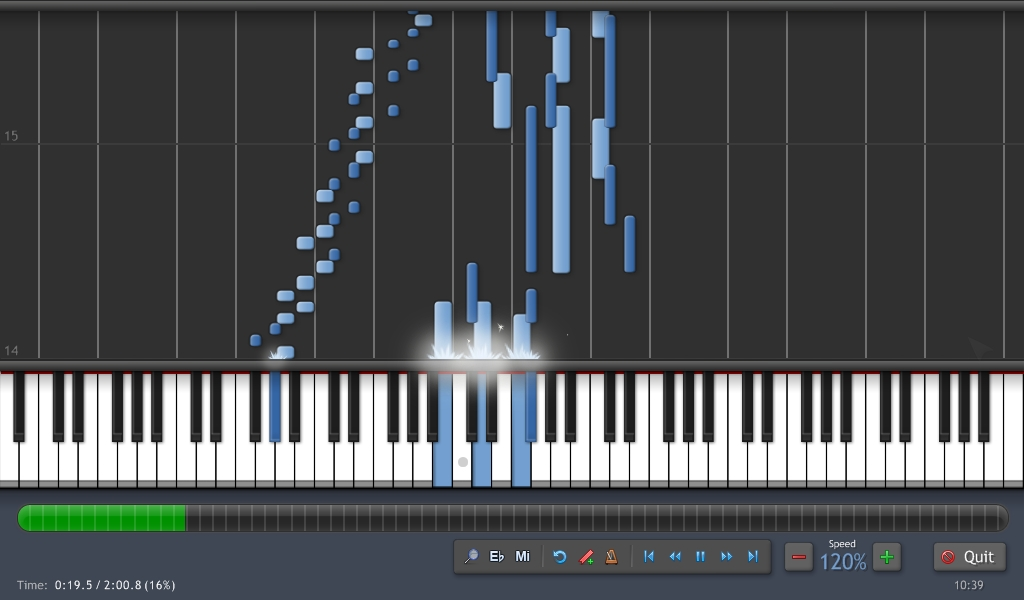 Synthesia software gratis untuk belajar piano di komputer for Software di piano planimetrico
