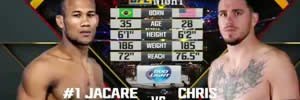 Vídeo da Luta - Ronaldo Jacaré x Chris Camozzi