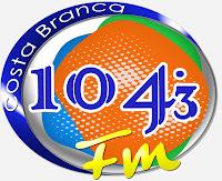 Rádio Costa Branca FM 104,3 de Areia Branca ao vivo