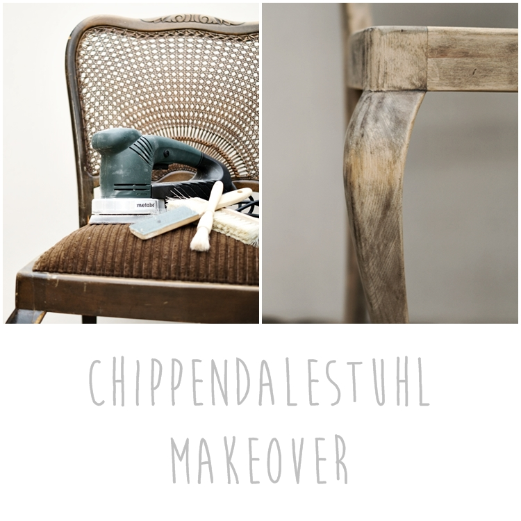 Chippendalestuhl Makeover { by it's me! }