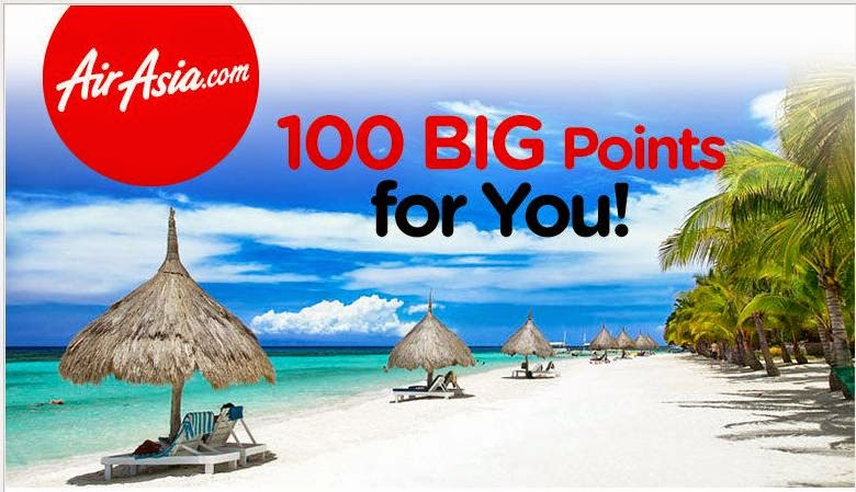 AIR ASIA 100 BIG POINTS