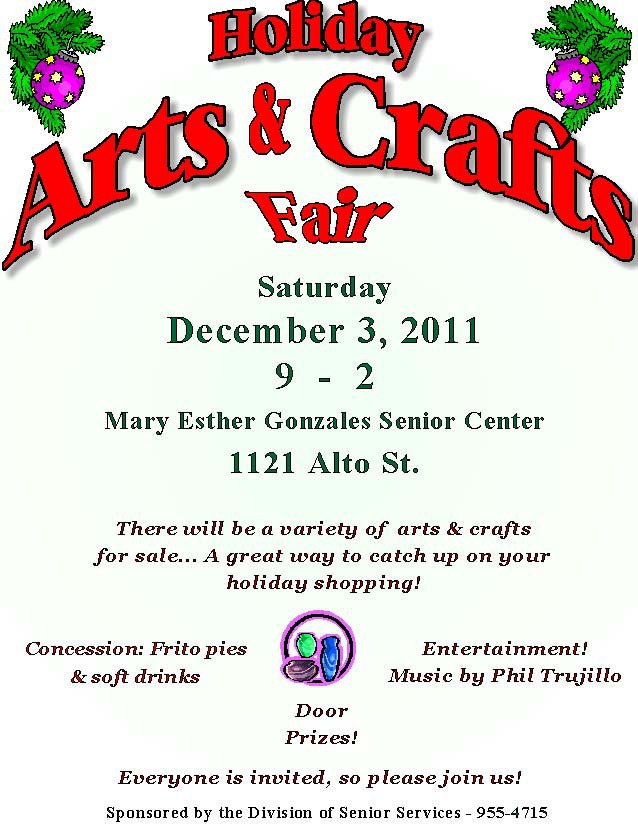 Holiday Craft Fair In Searcy Arkansas Vendor Applications