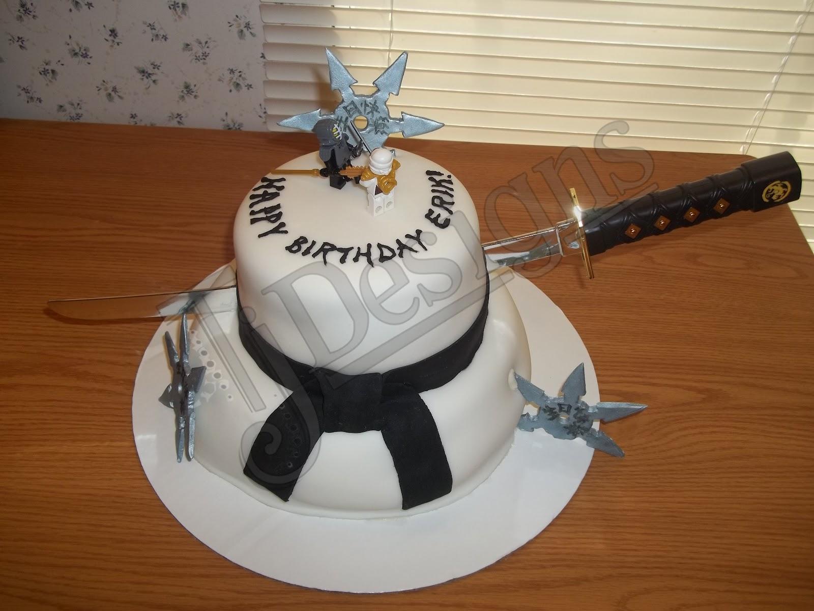TJ Designs Ninja Cake 2012