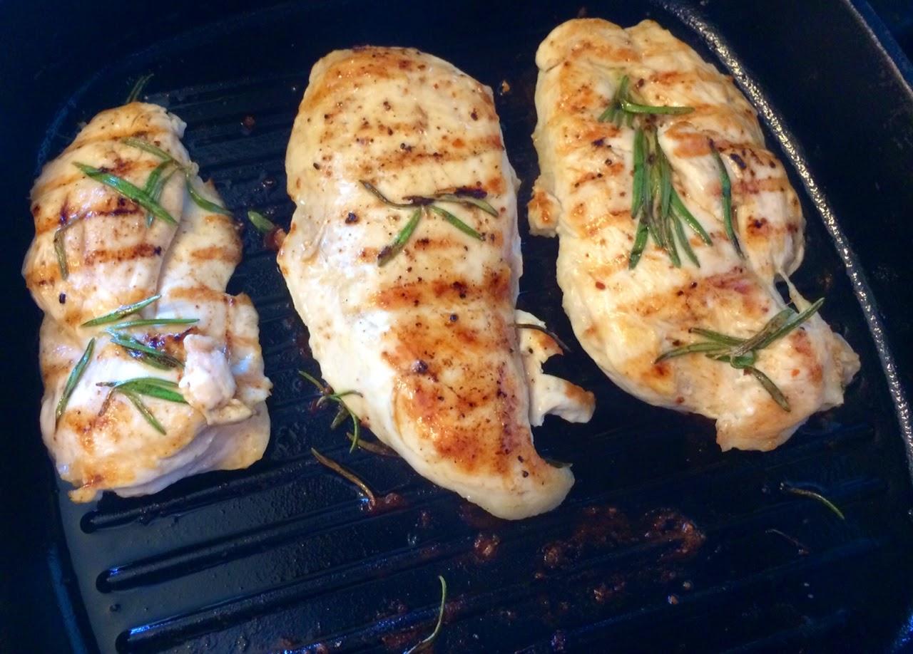Невероятно простой способ вкусно пожарить куриное филе за 5 минут!, курица на гриле