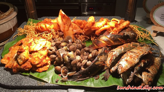 Chef's A-List Malaysian Feast, Nook, Aloft KL Sentral, A-List Malaysian Feast, Malay traditional cuisine, ramadan buffet, buka puasa buffet, seafood bbq, kerang bakar, sotong bakar