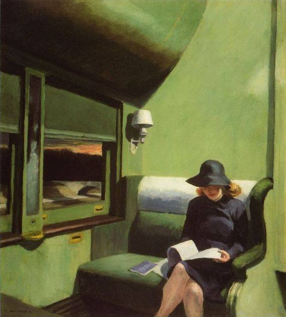 Edward Hopper, Compartment Car
