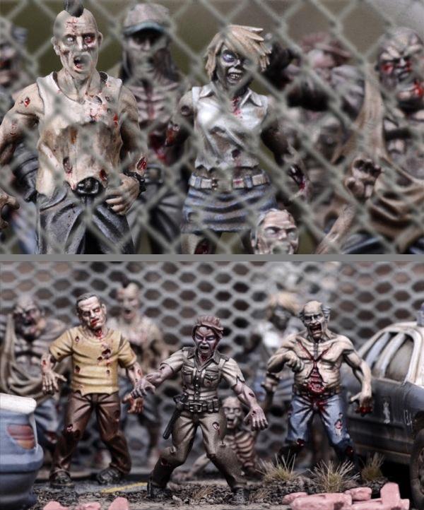 The walking dead all out war arriva il gioco di - Zombie side gioco da tavolo ...