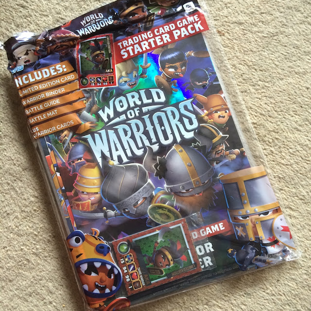 world of warriors online gaming app Topps trading card game