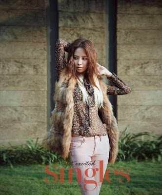 Song Ji Hyo Singles Magazine December 2012