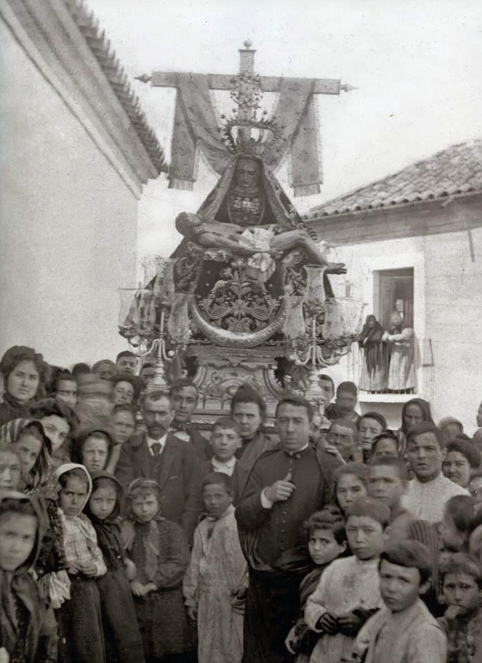 Antigua V. de las Angustias. 1893