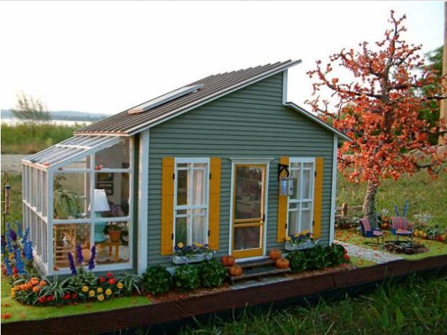 Modern mini houses for Photos of cute houses