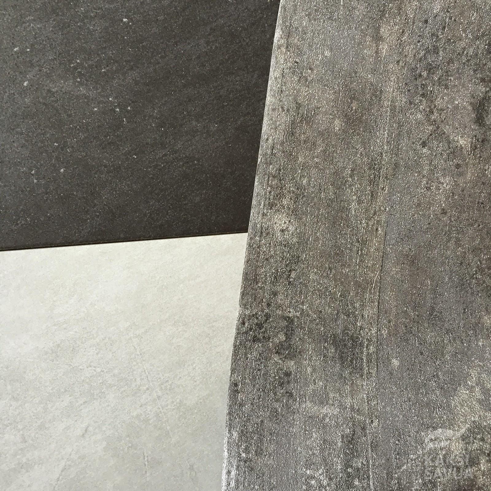 Kaakelikeskuksen Piemme moder k11 dgrey ja Piemme moder k9 grey