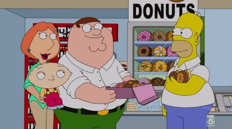 Homer Donuts Drool