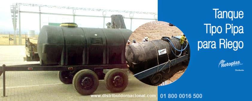 Dinamica en soluciones riego con tanque tipo pipa para agua for Tanque de agua rotoplas