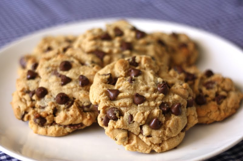 Reeses-Stuffed Peanut Butter Chocolate Chip Cookies | The Crunchy ...