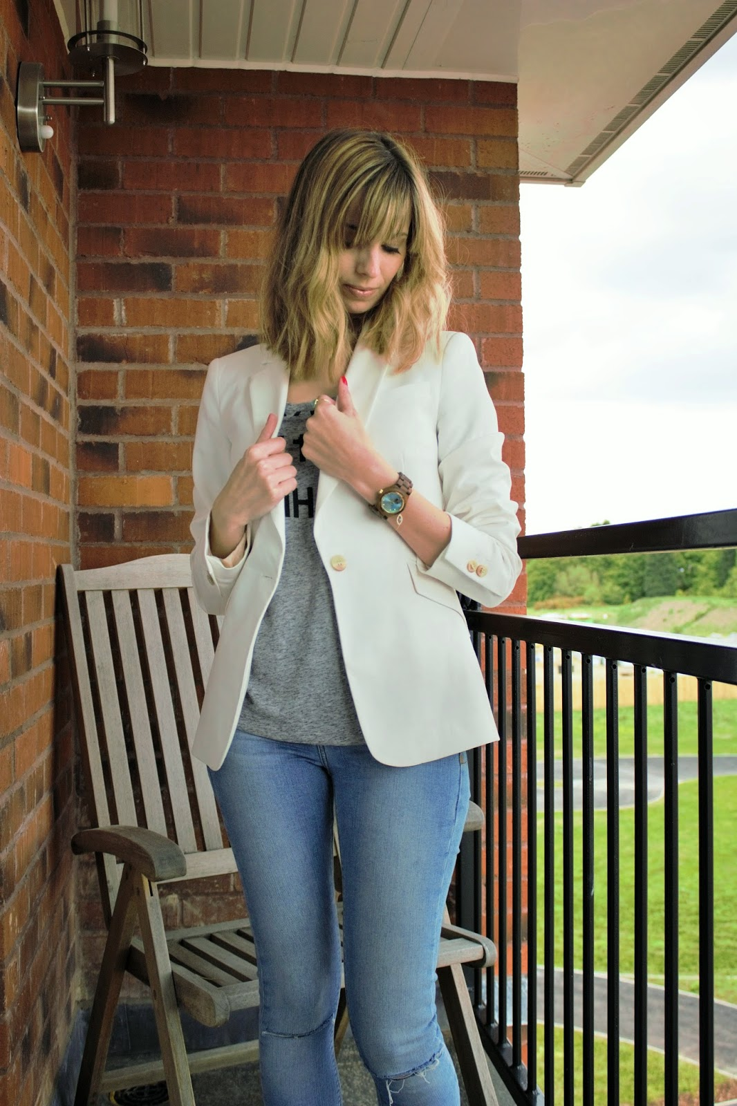 OOTD featuring Jord Watches, Zara and River Island