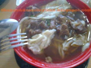 Chowking menu - beef noodles