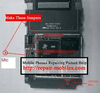 Trik Jumper Handphone LG KG 195 Masalah Mic