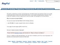 Penyebab Paypal Limit