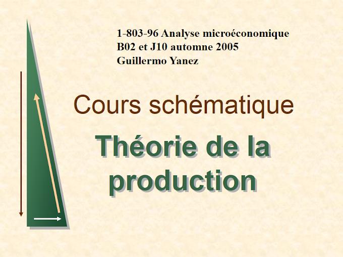 Cours microéconomie 2 : Guillermo Yanez