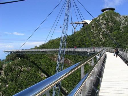 Bridge at summit, Langkawi