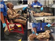É um cadáver? Viajante assustador passa pelo raio-X de aeroporto dos EUA