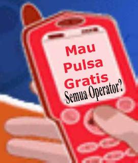cara mendapatkan pulsa gratis telkomsel,im3,xl,3