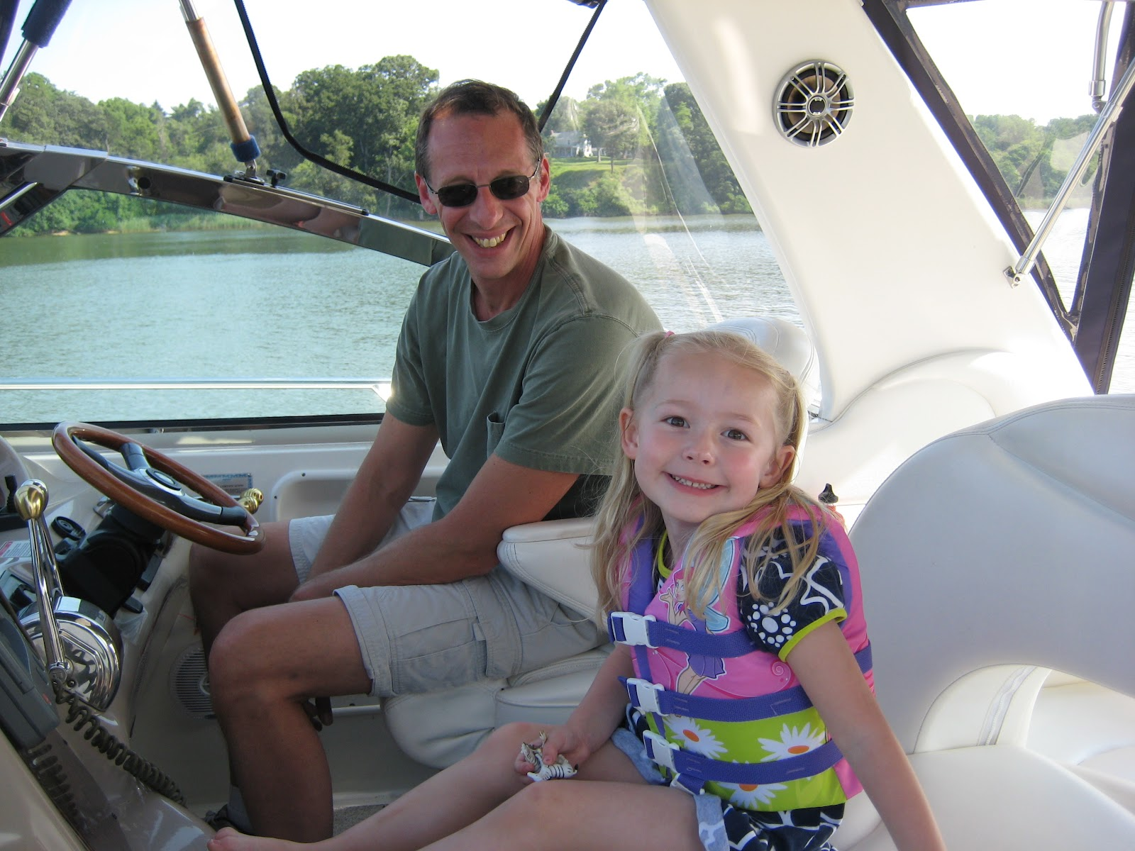 kids at the helm