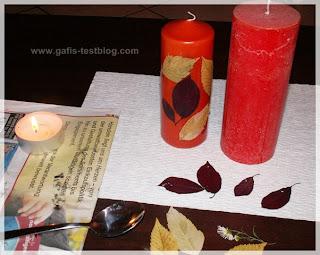 Mit Kerzen basteln