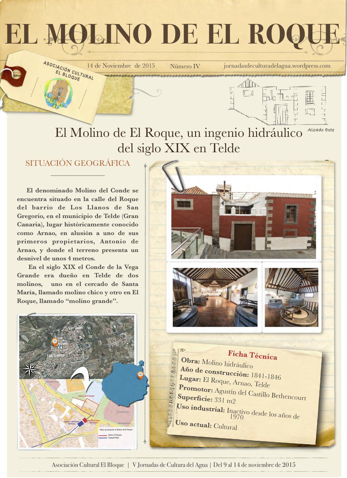 Molino de El Roque. Telde