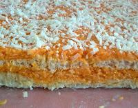 Tarta de Zanahoria y Coco (Corte)