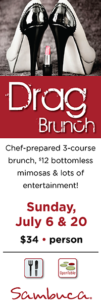 Drag Brunch comes to Sambuca!