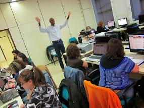 """Curso presencial """"Las TIC al servicio de la Animación Lectora"""" CECE Madrid. Marzo 2014"""