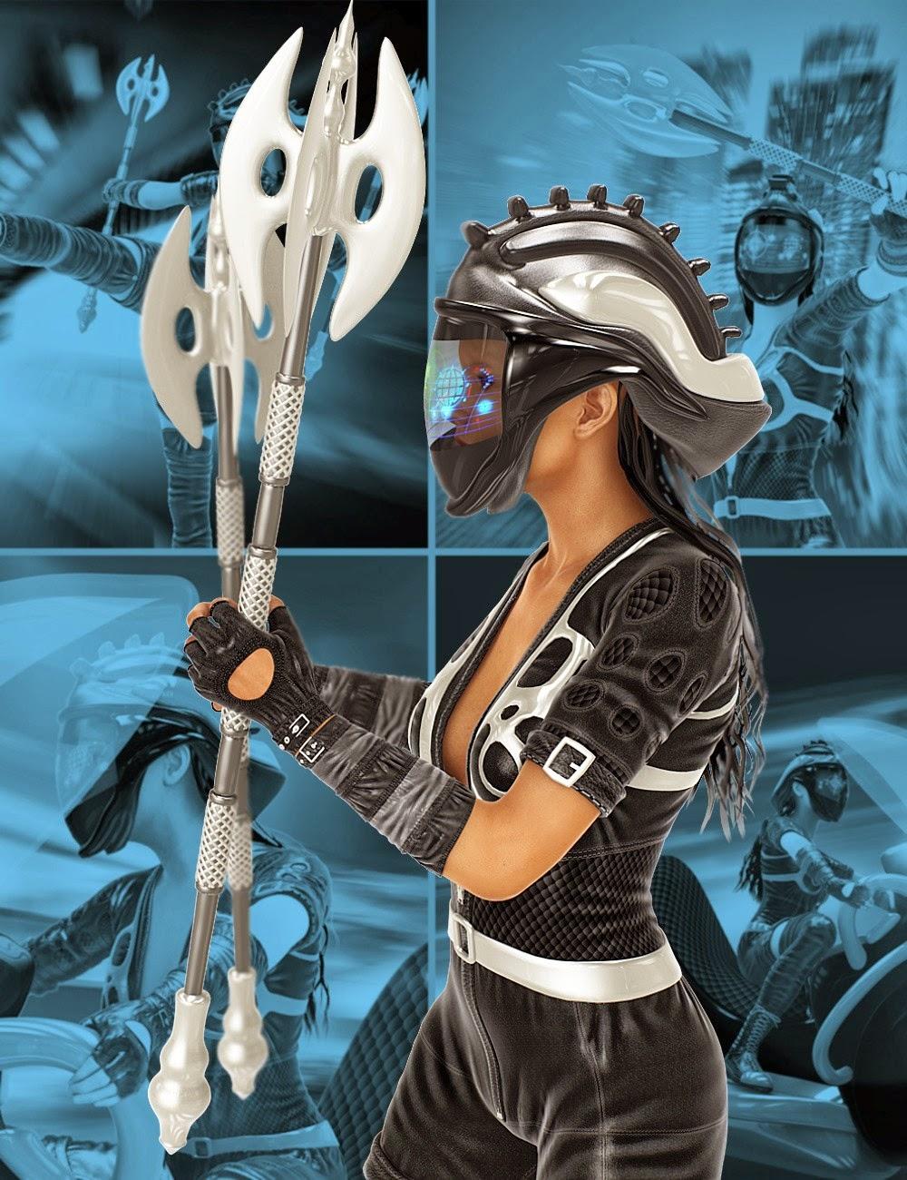 Mec4D Apocalipsa pour Genesis 2 Femme